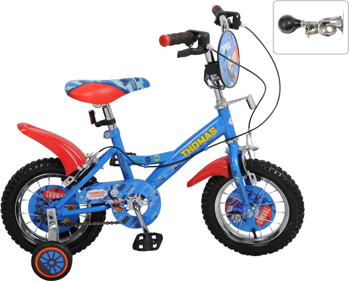 Велосипед детский Navigator Томас и его друзья, цвет: синий. ВН12098КЛ. ВН12098КЛ