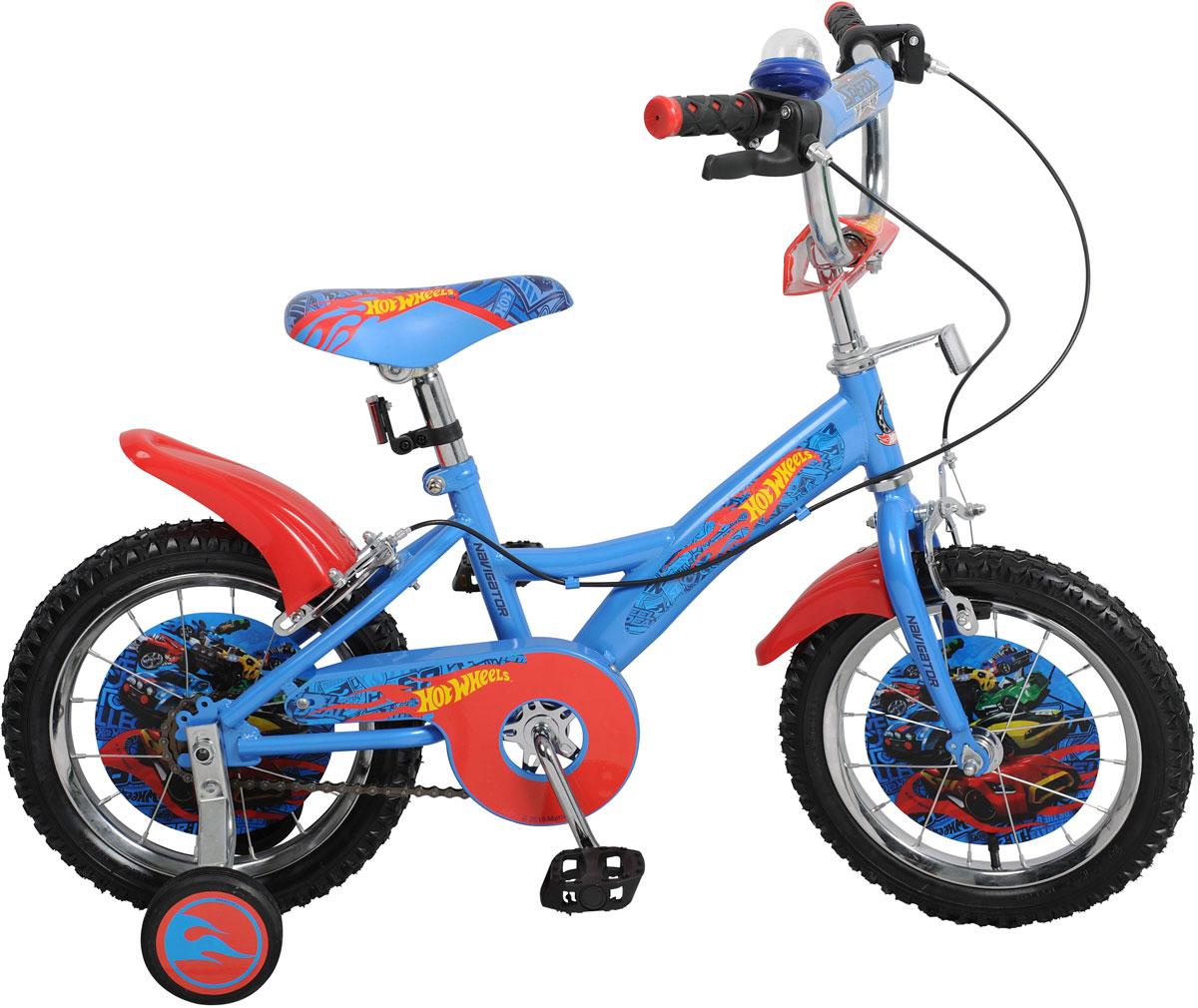 Велосипед детский Navigator Hot Wheels, цвет: синий. ВН14153. ВН14153 navigator велосипед двухколесный hot wheels