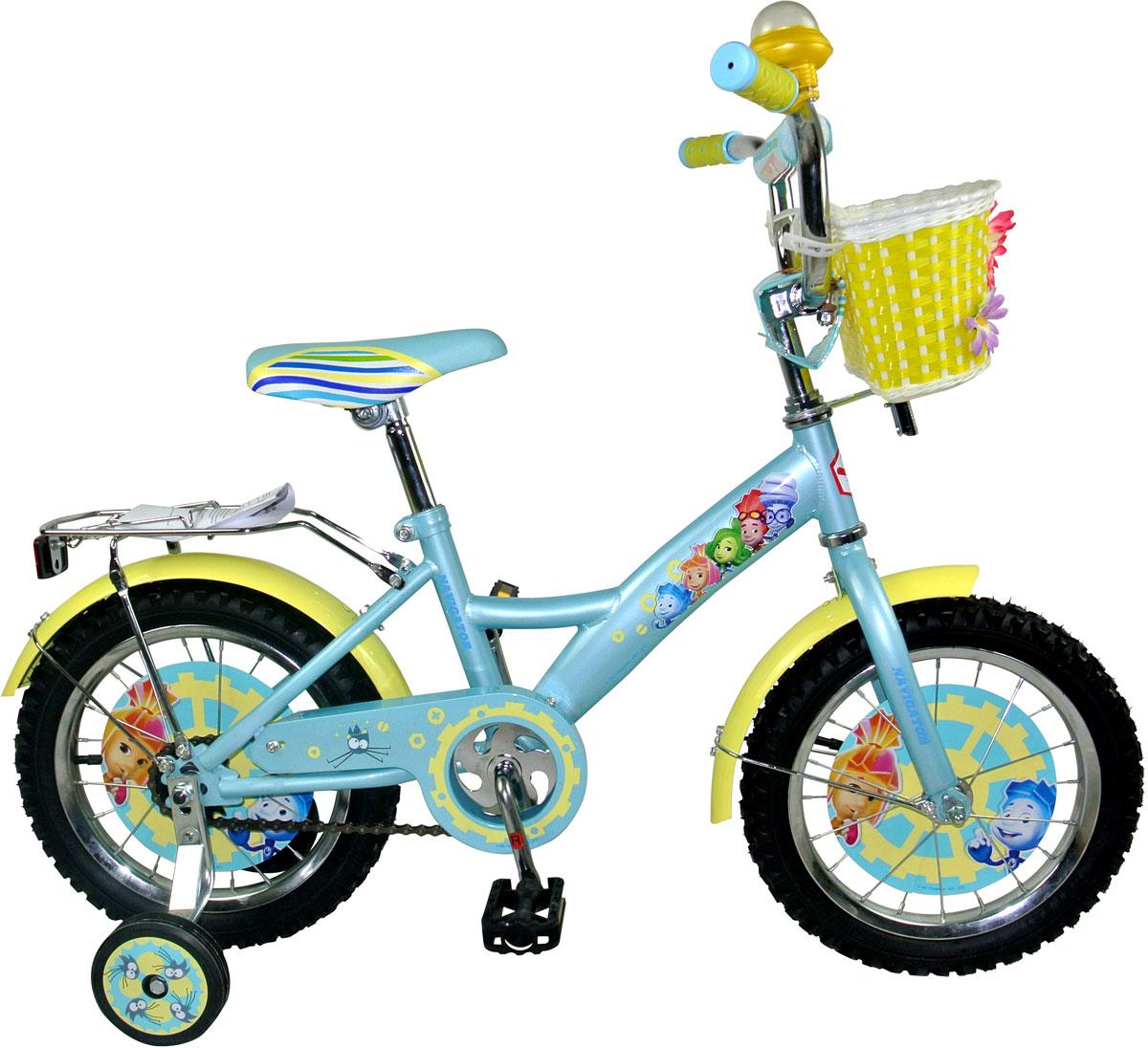 Велосипед детский Navigator Фиксики, цвет: голубой. ВН16110К. ВН16110К