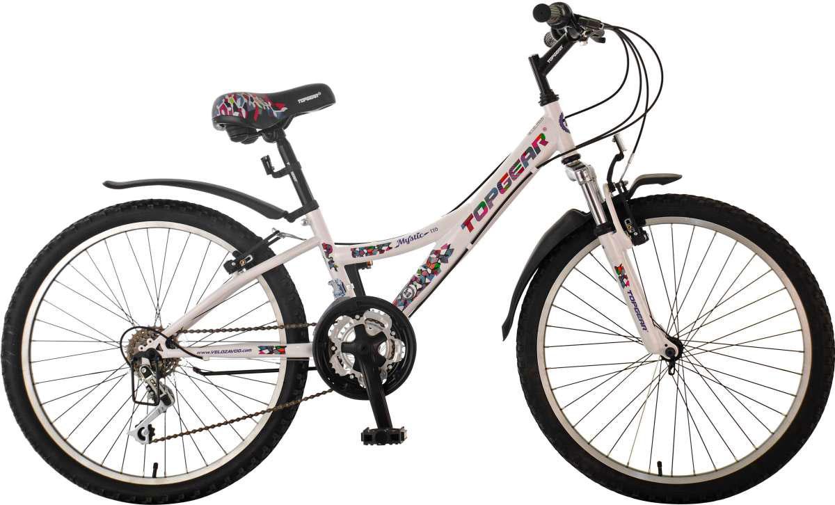 Велосипед детский TopGear Mystic, цвет: белый. ВН20167ВН20167Горный велосипед двухподвес TopGear Mystic отлично подойдет для езды по различным типам местности. Велосипед оснащен педалями с противоскользящей поверхностью, удобным регулируемым сидением.
