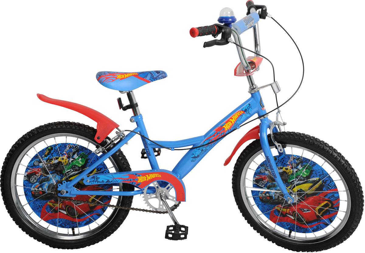 Велосипед детский Navigator Hot Wheels, цвет: синий. ВН20168. ВН20168 navigator велосипед двухколесный hot wheels