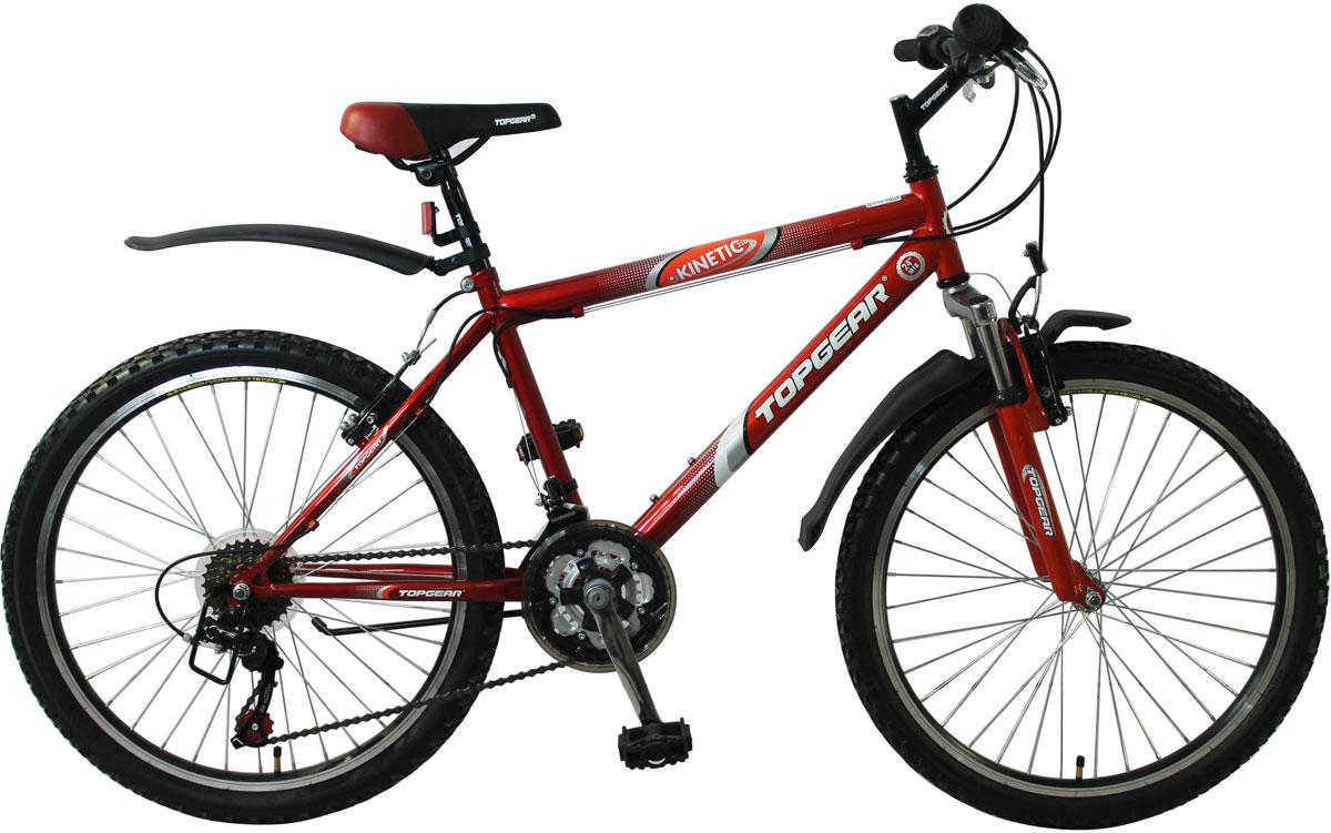 Велосипед детский TopGear Kinetic, цвет: красный. ВН24096