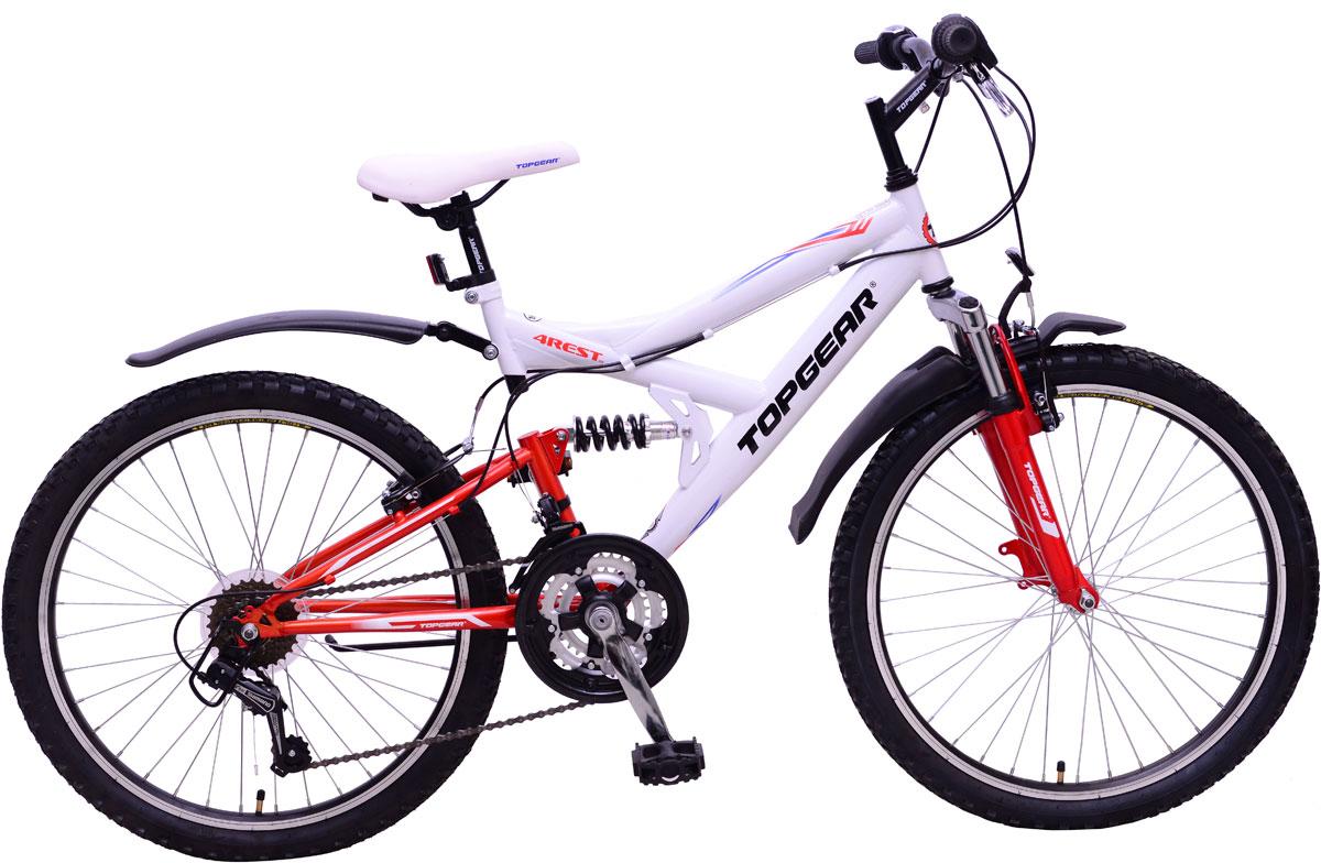 Велосипед детский TopGear 4Rest, цвет: красный. ВН24132 раскладушка therm a rest therm a rest luxurylite mesh xl