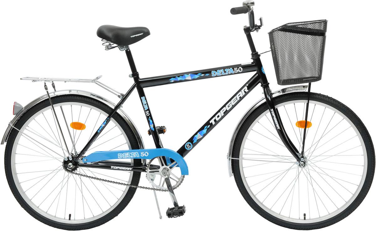 Велосипед детский TopGear Delta, цвет: синий. ВН26247К. ВН26247К