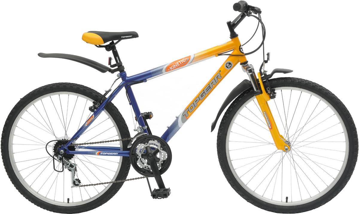 Велосипед детский TopGear Kinetic, цвет: желтый. ВН26317
