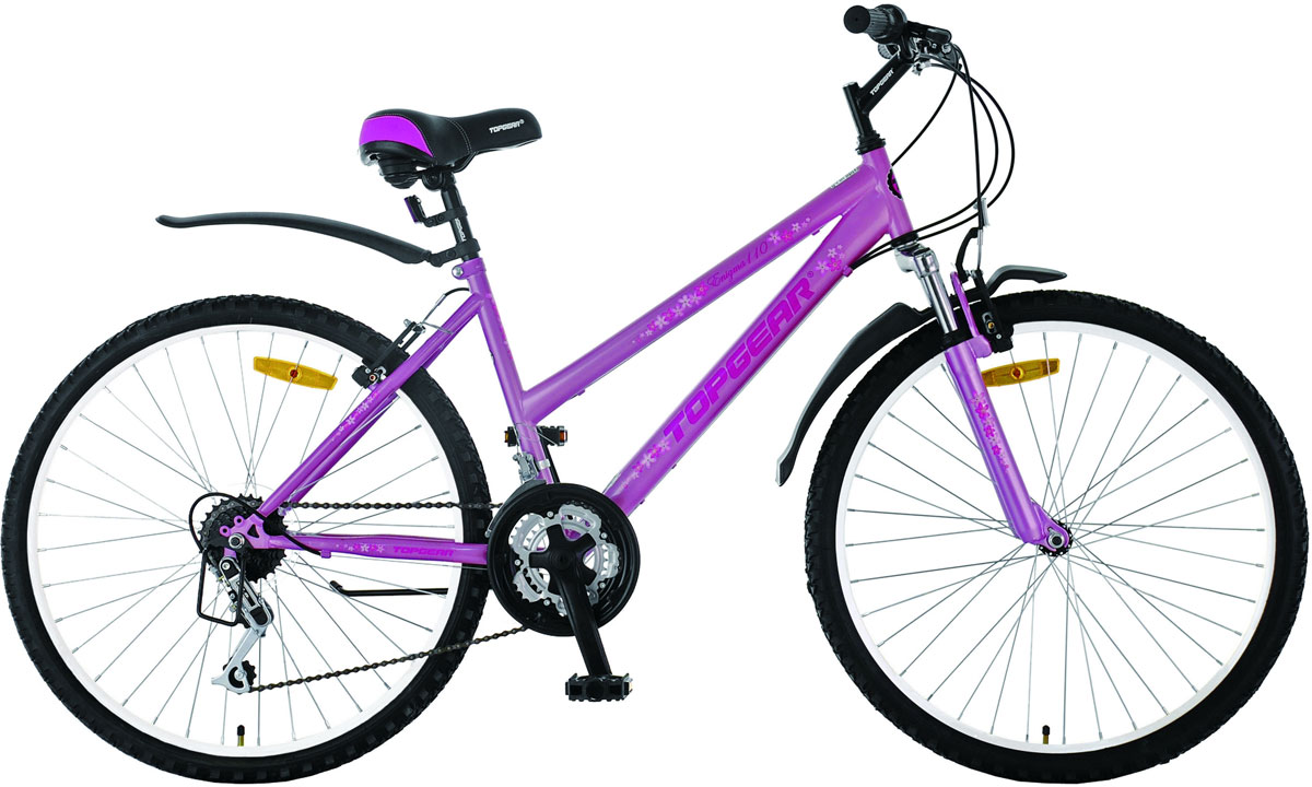 Велосипед детский TopGear Enigma, цвет: розовый. ВН26328