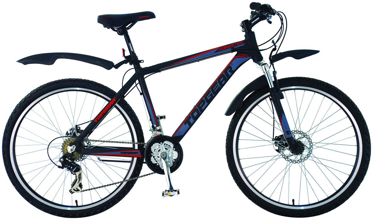 Велосипед детский TopGear FoRester, цвет: красный. ВН26356