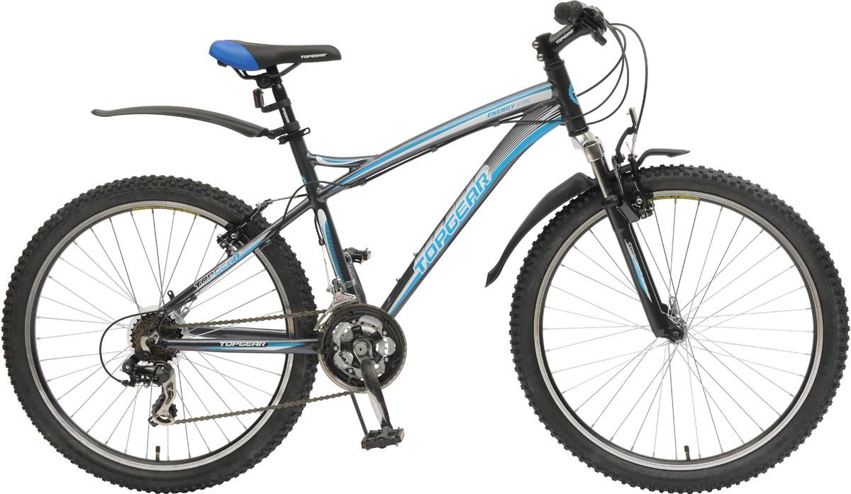 Велосипед горный с жесткой рамой для езды по различным типам местности.