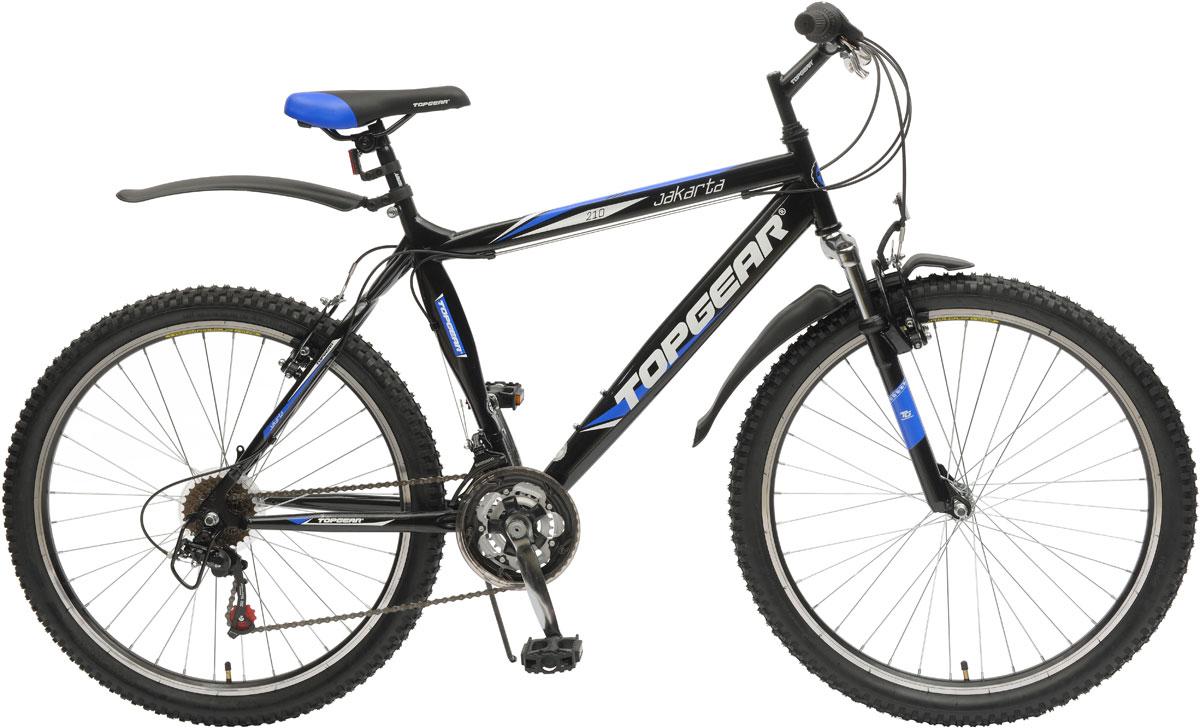 Велосипед детский TopGear Jakarta, цвет: синий. ВН26382