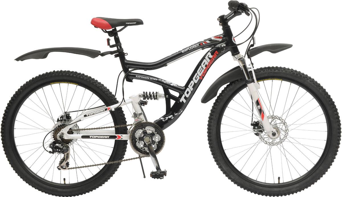 Велосипед детский TopGear Explorer, цвет: черный. ВН26394