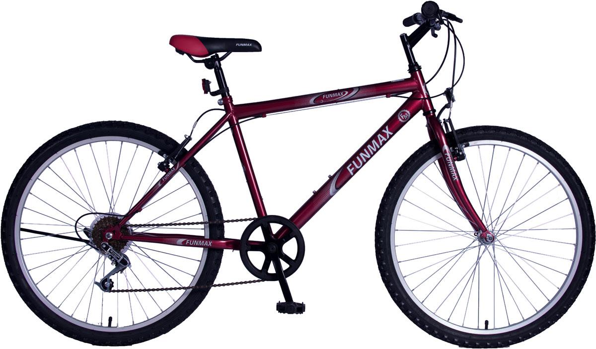 Велосипед детский FunMax, цвет: красный. ВН26395 велосипед детский navigator том и джерри цвет желтый 16 вн16114