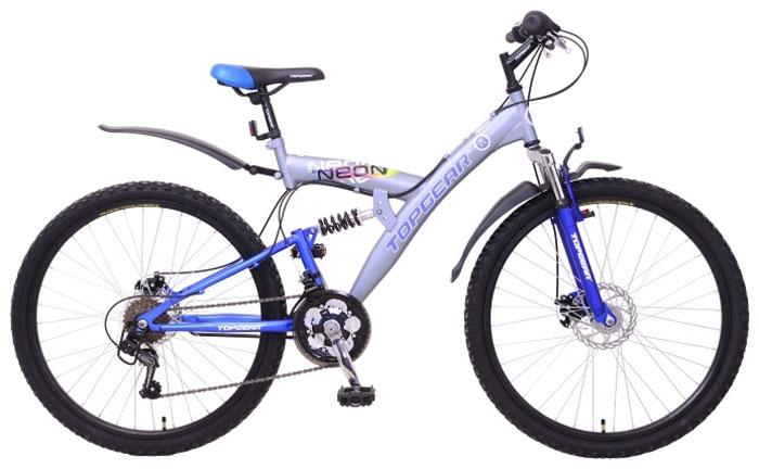 Велосипед детский TopGear Neon, цвет: синий. ВН26415
