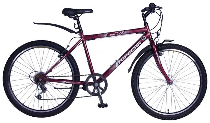 Велосипед детский TopGear Kinetic 100, цвет: красный. ВН26419В-6s