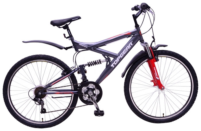 Велосипед детский TopGear 4Rest, цвет: серый. ВН26424 qian xu паук подушка мягкий велосипед седло мат горный велосипед дорога велосипед горный велосипед комфорт велосипед подушка покры