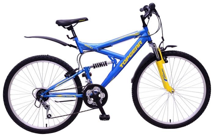Велосипед детский TopGear 4Rest, цвет: голубой. ВН26427