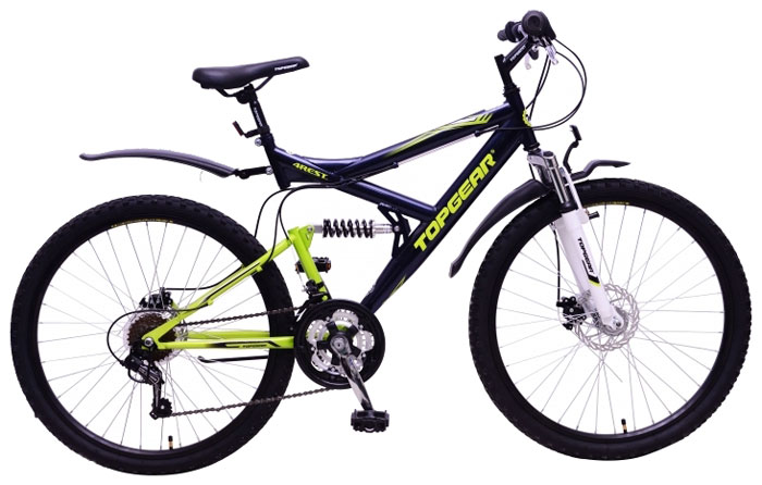 Велосипед детский TopGear 4Rest, цвет: черный. ВН26428ВН26428Горный велосипед двухподвес для езды по различным типам местности.