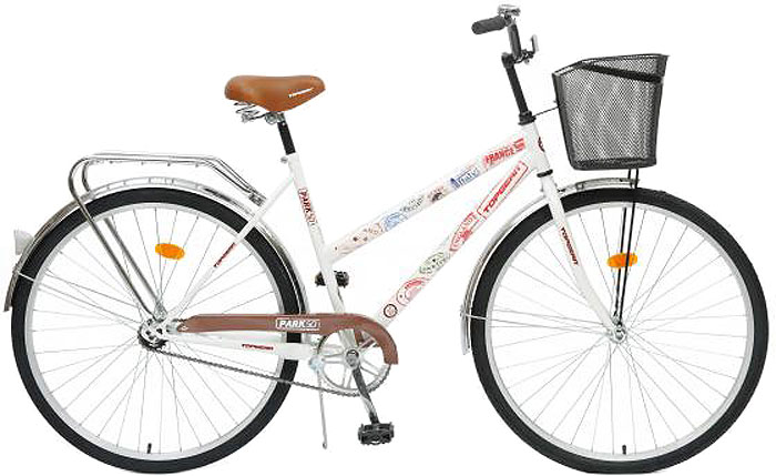 Велосипед детский TopGear Park, цвет: белый. ВН28013К