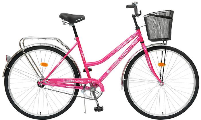 Велосипед детский TopGear Luna, цвет: розовый. ВН28014К