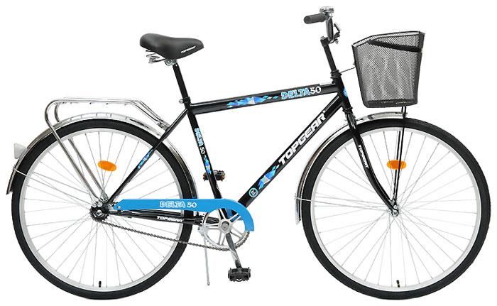 Велосипед детский TopGear Delta, цвет: синий. ВН28015К