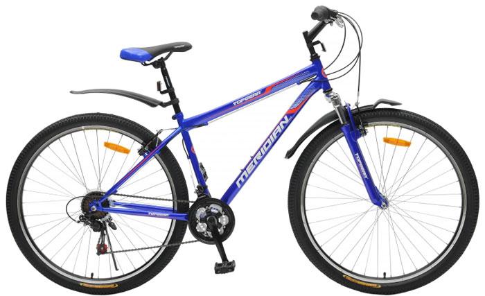 Велосипед детский TopGear Meridian, цвет: синий. ВН29001