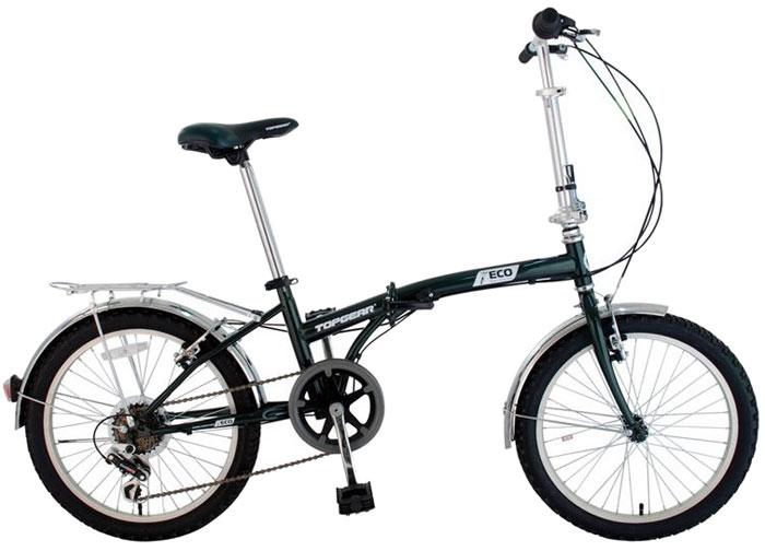Велосипед детский TopGear, складной, цвет: белый. ВНС2082