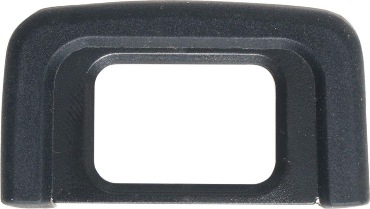 Fujimi FEC-DK-25, Black наглазник для NikonFEC-DK-25Fujimi FEC-DK-25 - наглазник для Nikon. Он изготовлен из пластика и имеет резиновую рамку, благодаря которой позволяет без проблем фотографировать в очках. Совместимость: D3200; D3300; D5200; D5300; D5500.