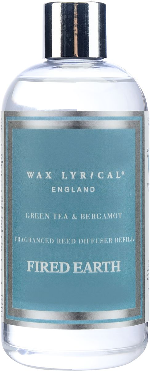Наполнитель для ароматического диффузора Wax Lyrical Зеленый чай и бергамот, 250 млFE0402Тонкий, узнаваемый, безграничный аромат зелёного чая и лёгкого изысканного бергамота. Он наполнит ваш дом красотой своего благородного звучания. Сочетание прохладных нот монарды, мандарина, теплых аккордов сухой цедры апельсина и лимона придает аромату летний оттенок. Вы услышите бодрость зелёного чая, нежность белых лилий, почувствуете красоту янтаря и мускуса. Секрет этой парфюмерной композиции кроется в добавлении натуральных эфирных масел шалфея, лимона, литсеи и перечной мяты. Наполнитель для диффузора (сменный блок) – это дополнительно продающаяся ароматическая жидкость. Объем бутылочки составляет 250 мл.