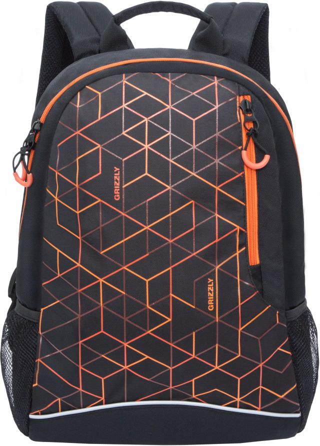 Рюкзак городской Grizzly, цвет: оранжевый. RU-805-2/2RU-805-2/2Молодежный рюкзак Grizzly имеет одно отделение, карман на молнии на передней стенке, боковые карманы из сетки, внутренний карман для электронных устройств, внутренний карман на молнии. Выполнен из полиэстера. Особенности: укрепленная спинка, дополнительная ручка-петля, укрепленные лямки.
