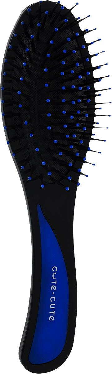 Cute-Cute Расческа массажная, цвет: синий, длина 205 мм