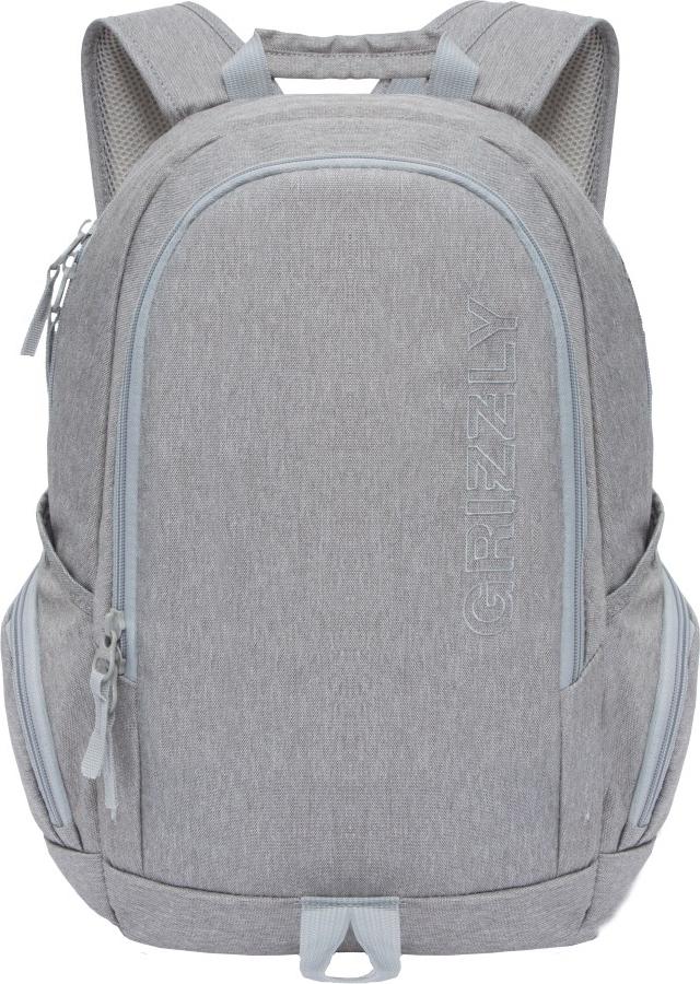 Рюкзак городской Grizzly, цвет: серый. RU-809-1/1 grizzly рюкзак дошкольный цвет серый rs 764 5