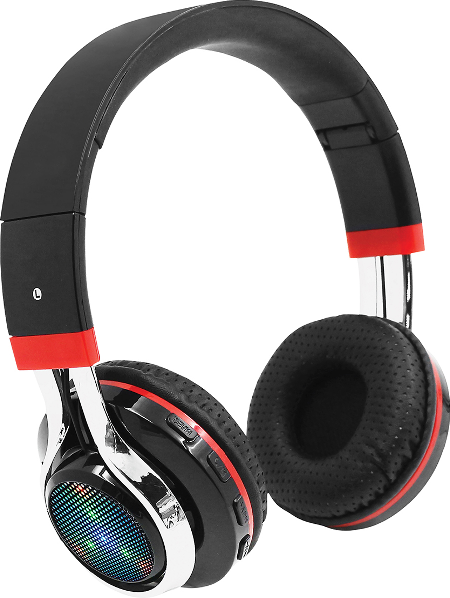 Qumo Freedom Style BT-0014, Black Red Bluetooth-гарнитура