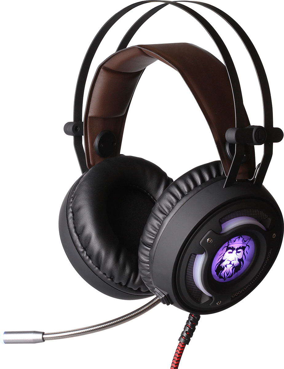 Qumo Avalon GHS 0006, Black гарнитура игровая проводная gaming headset qumo champion ghs 0001