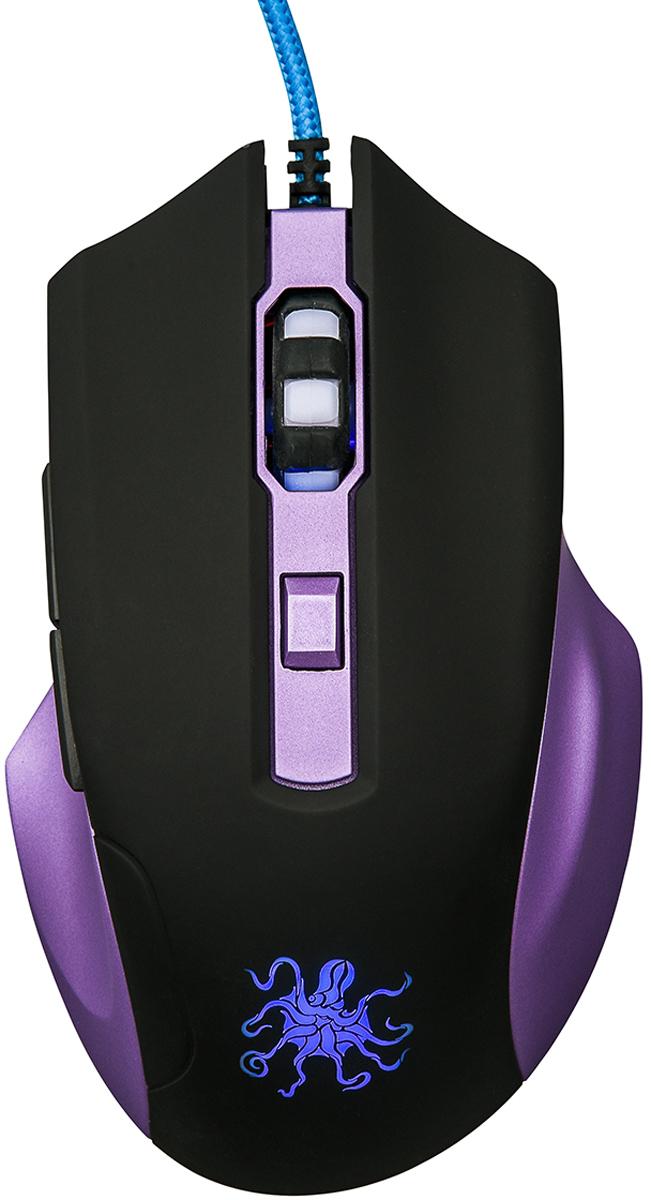 Qumo Kraken M30, Black мышь игровая мышь qumo dragon war kraken m30 проводная оптическая для pc
