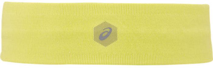 Повязка на голову Asics HeadBand, цвет: желтый. 155934-0392155934-0392Ничто не помешает вашей пробежке – головная повязка ASICS защитит ваши глаза от пота и волос во время занятий на беговой дорожке, в спортзале или на теннисном корте. Благодаря технологии влагорегулирования она сохранит сухость и прохладу, а логотип гарантирует стильный внешний вид как для мужчин, так и для женщин.