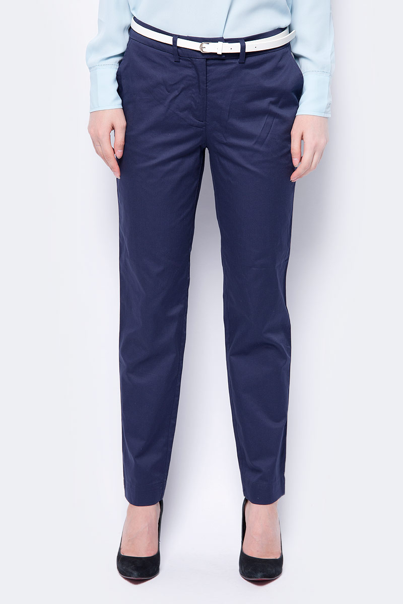 Брюки женские Baon, цвет: синий. B298018_Dark Navy. Размер XL (50) юбка cocos cocos mp002xw1arib