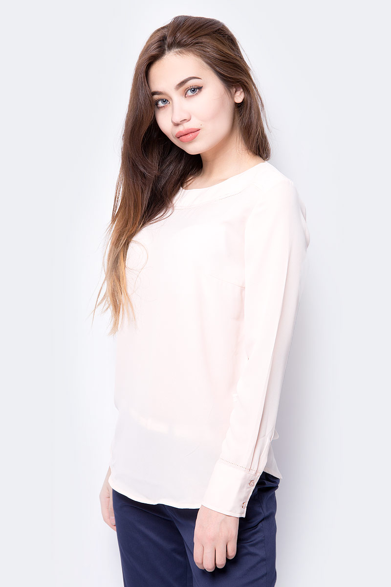 Блузка женская Sela, цвет: розовый. Tw-112/235-8112. Размер 50 цена 2017