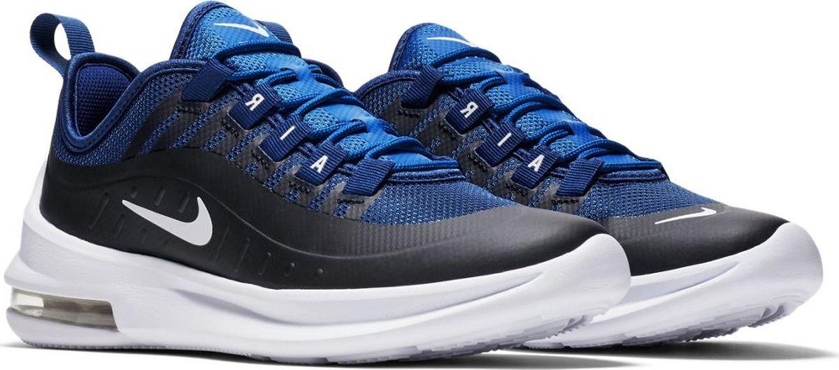 Кроссовки для мальчика Nike Air Max Millenial, цвет: синий, черный. AH5222-400. Размер 7Y (39)