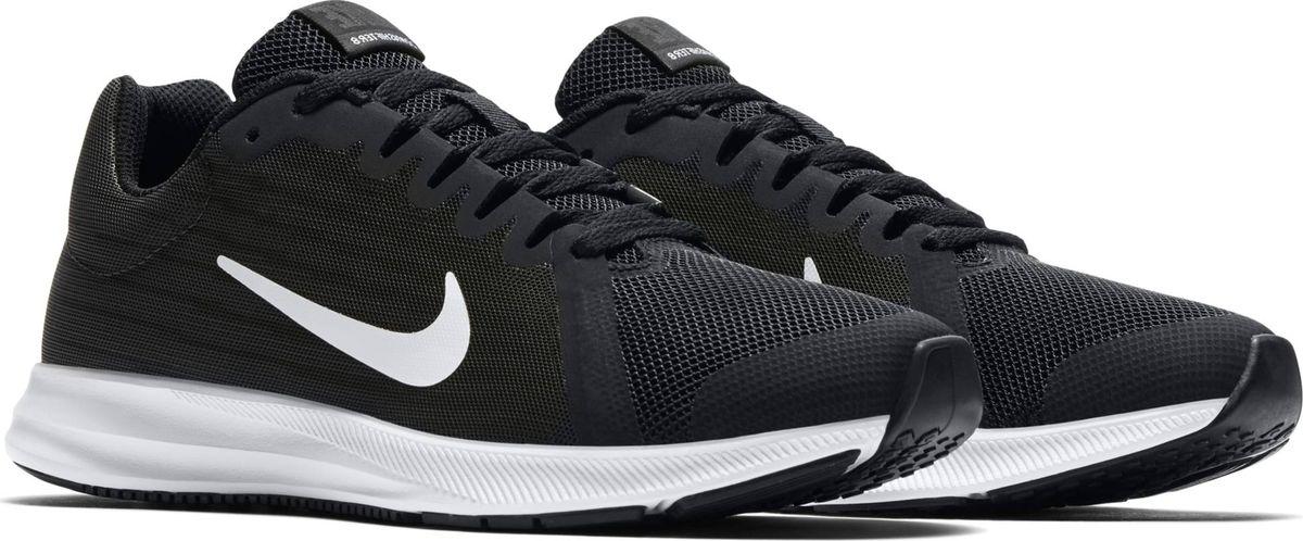 Кроссовки для мальчика Nike Downshifter 8, цвет: черный. 922853-001. Размер 6,5Y (38)