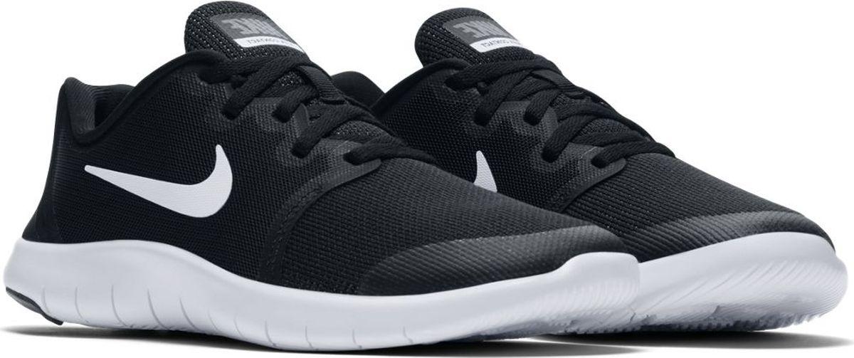 Кроссовки для мальчика Nike Flex Contact 2, цвет: черный. AH3443-002. Размер 4,5Y (35,5)AH3443-002