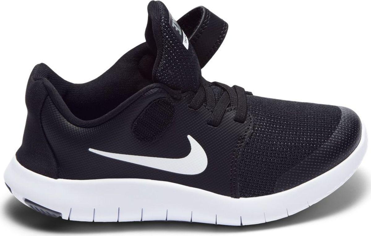 Кроссовки для мальчика Nike Flex Contact 2, цвет: черный. AH3444-002. Размер 2Y (32,5) кроссовки для мальчика zenden цвет красный 219 33bg 043tt размер 33
