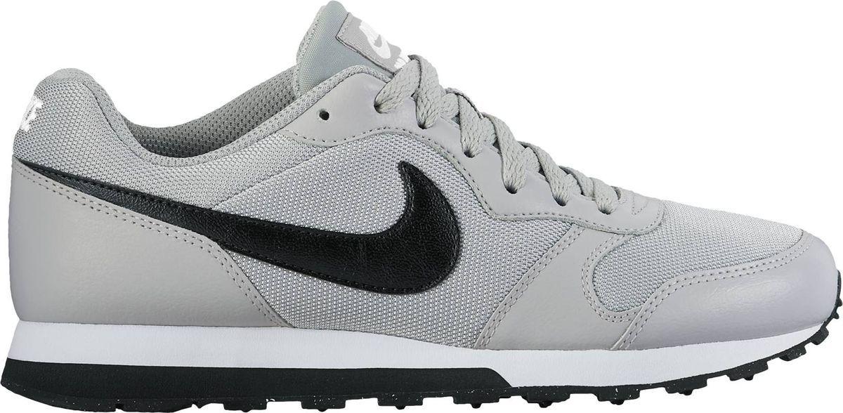 Кроссовки для мальчика Nike MD Runner 2, цвет: серый, черный. 807316-003. Размер 6Y (37,5)