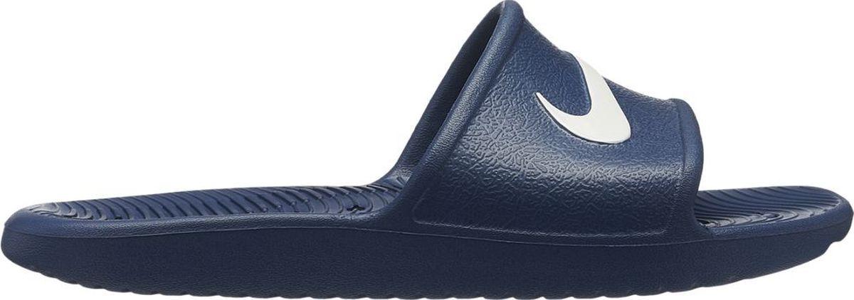 Шлепанцы для мальчика Nike Kawa Shower, цвет: синий. AQ0899-401. Размер 6Y (37,5) шлепанцы souls шлепанцы