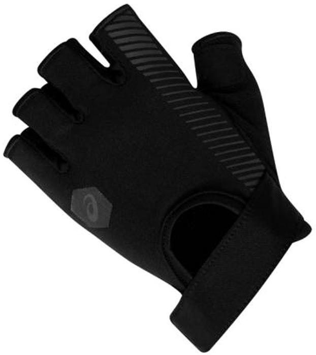 Перчатки женские Asics Training Glove, цвет: черный. 155009-0904. Размер M (9)155009-0904Спортивные перчатки Asics выполнены из высококачественного материала. Снаружи модель оформлена принтом с изображением логотипа бренда. Перчатки дополнены эластичными резинками, которые надежно зафиксируют модель на запястье, не сдавливая его.