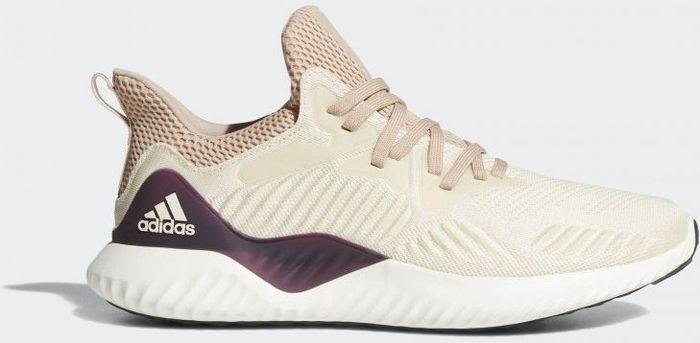 Кроссовки женские adidas Alphabounce Beyond W, цвет: бежевый. DB0206. Размер 7,5 (40)DB0206Когда дыхание становится легким, значит, вы нашли свой комфортный темп. Эти женские беговые кроссовки от adidas созданы специально для кросс-тренировок. Бесшовный облегающий верх Forgedmesh обеспечивает необходимую поддержку стопы по бокам. Цепкая подошва с технологией Bounce способствует комфорту и заряжает каждый шаг дополнительной энергией.Тип поддержки стопы: нейтральный. Гибкие универсальные кроссовки с комфортной амортизацией.Технология Bounce мягко амортизирует и обеспечивает дополнительный комфорт и гибкость.Бесшовный эластичный верх Forgedmesh со стратегически расположенными, поддерживающими вставками обеспечивает индивидуальную и максимально естественную посадку.Плотно облегающая конструкция для удобной посадки.Литой задник Fitcounter обеспечивает естественную посадку и оптимальную плавность движения в области ахиллова сухожилия.Подошва из резины Continental для оптимального сцепления при любых погодных условиях.