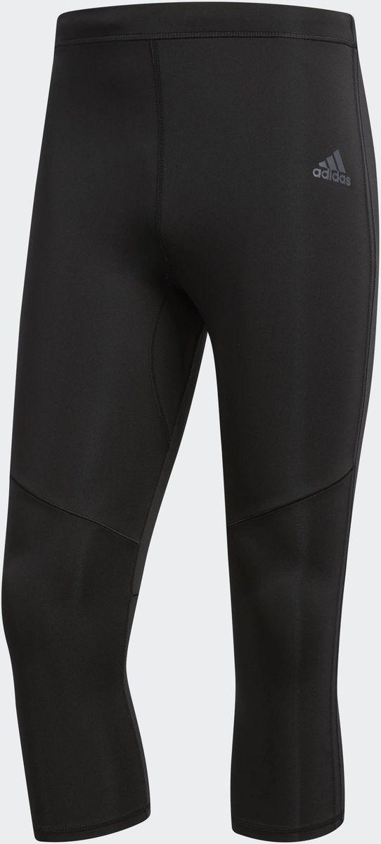 Тайтсы мужские adidas RS 3/4 Tight M, цвет: черный. CF9873. Размер XL (56/58)CF9873Удобные мужские тайтсы для бега от adidas сшиты из мягкой эластичной ткани, которая повторяет каждое ваше движение. Модель с эластичной резинкой на талии.