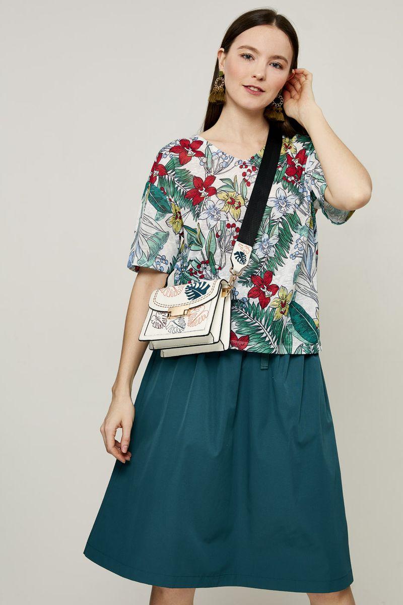 Блузка женская Zarina, цвет: зеленый. 8224507407015. Размер XS (42) блузка quelle zarina 1017146