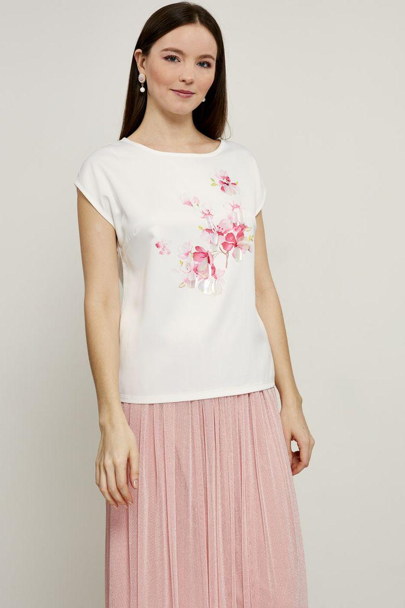 Блузка женская Zarina, цвет: разноцветный. 8224543439089. Размер XL (50) блузка женская zarina цвет белый 8224086316001 размер 42