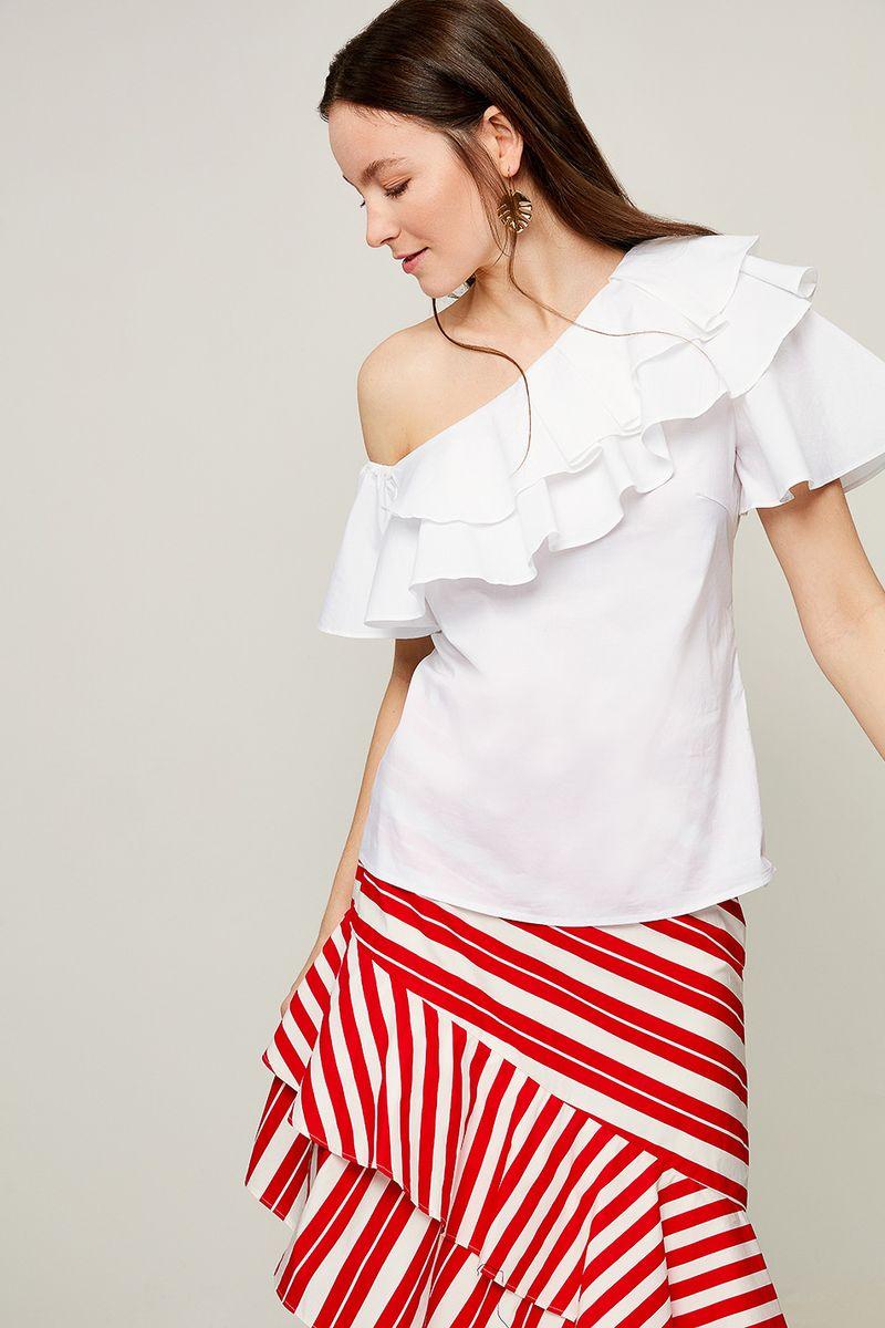 Блузка женская Zarina, цвет: разноцветный. 8226105305001. Размер 42 блузка женская zarina цвет белый 8224086316001 размер 42