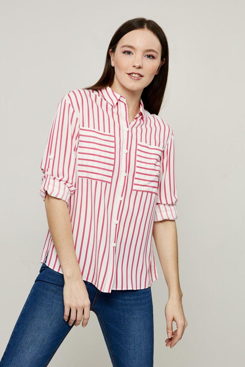 Блузка женская Zarina, цвет: розовый. 8224101331090. Размер 46 блузка quelle zarina 1017146