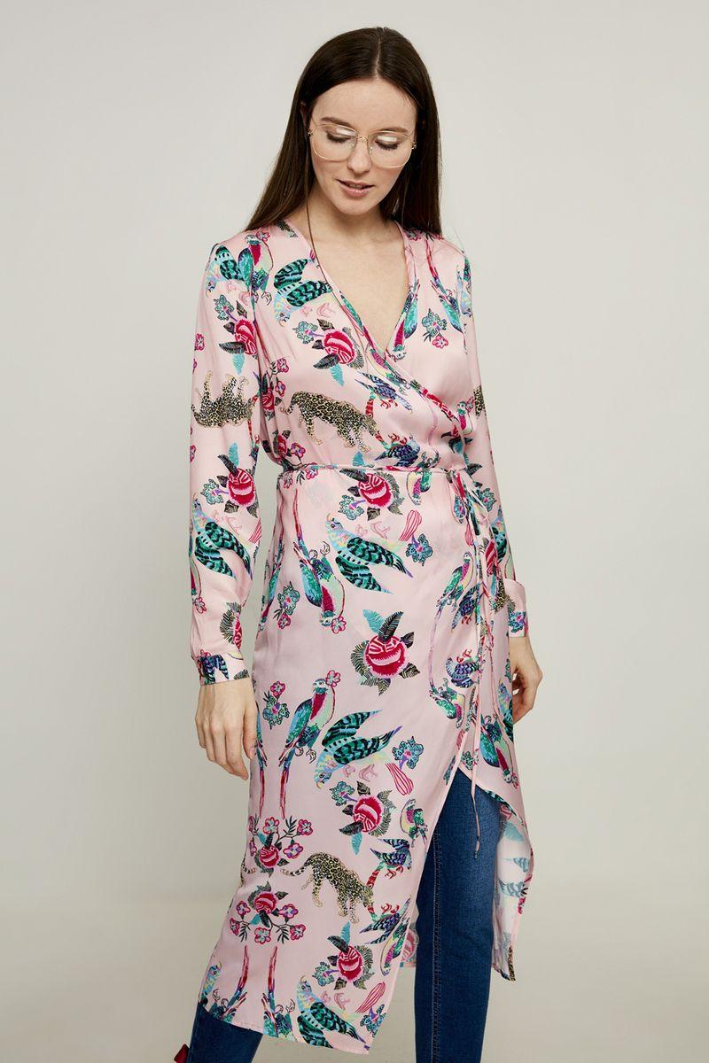 Блузка женская Zarina, цвет: Розовый. 8225089319095. Размер 50 блузка женская zarina цвет розовый 8224507407094 размер xl 50